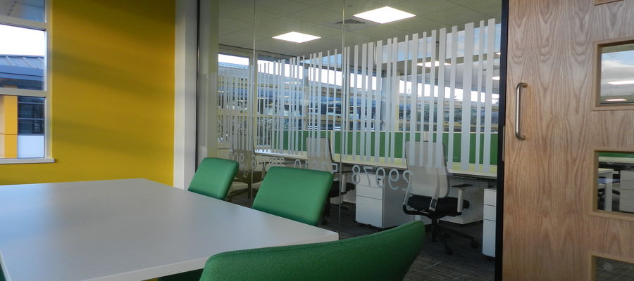 Double Glazed Office Partitioning