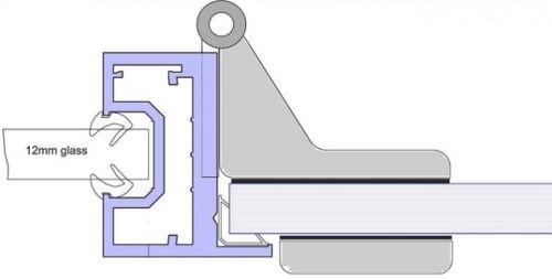 Single Glazed Door Frame Kit - CA657 Glass Door