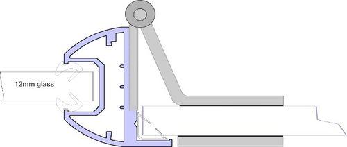 Single Glazed Door Frame Kit - CA658 Glass Door