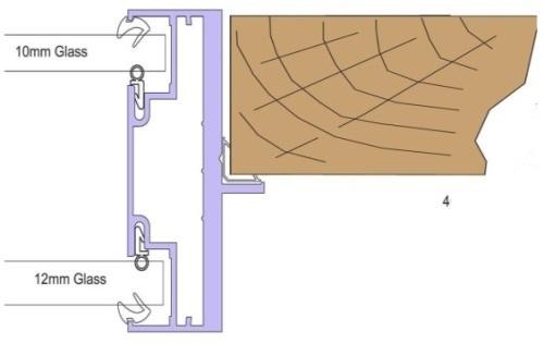 Double Glazed Door Frame Kit - CGD121 Timber Door