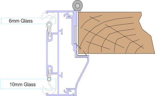 Double Glazed Door Stop Kit - FA532 Timber Door