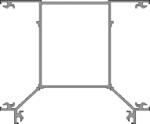 3 - Way Box Post
